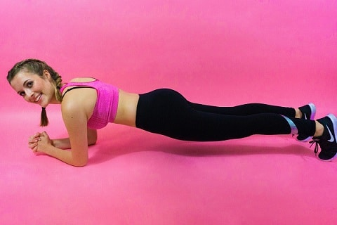 welke spieren gebruik je met planken
