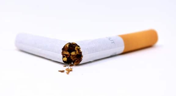 afvallen na stoppen met roken