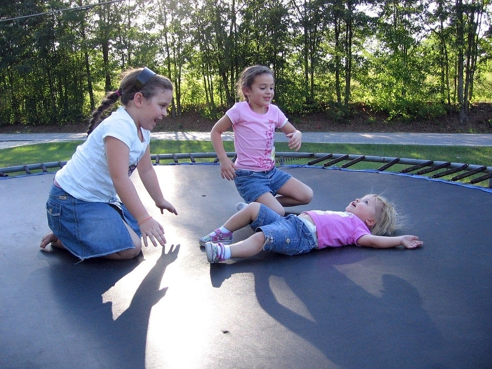 welke spieren train je met trampolinespringen