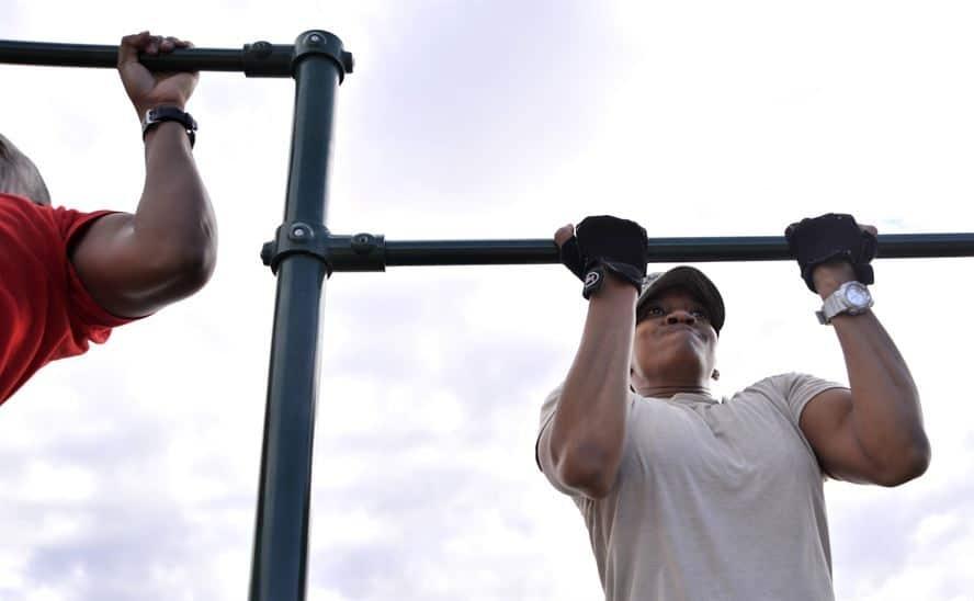 is optrekken goed voor je biceps
