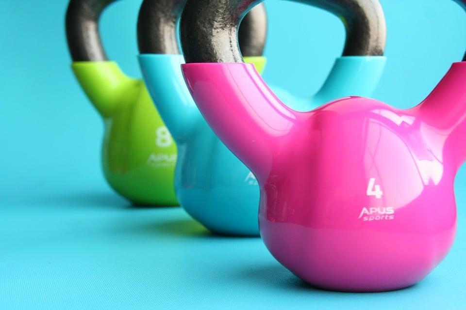 welk kettlebell gewicht is geschikt voor vrouwen