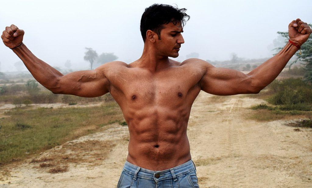 bovenlichaam trainen zonder gewichten